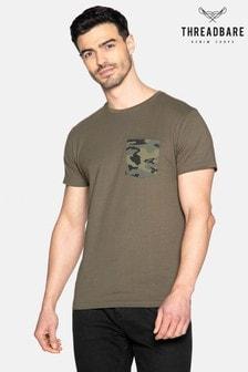 Threadbare Fallon Camo Pocket T Shirt