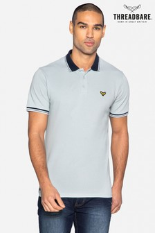 Threadbare Decker Cotton Short Sleeve Polo Shirt