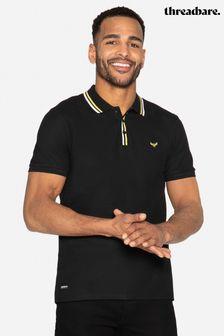 Threadbare Mateo Cotton Pique Polo Shirt