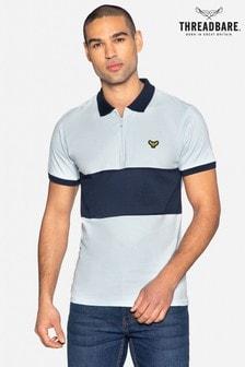 Threadbare Vinn Cotton Short Sleeved Polo Shirt