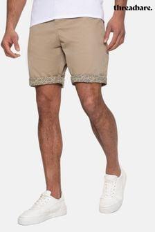 Threadbare Del Mar Cotton Chino Shorts