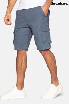 Threadbare Bute Cotton Cargo Shorts