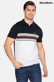 Threadbare Grundy Colour Block Short Sleeved Jumper