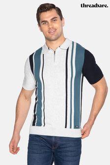 Threadbare Robinson Striped Short Sleeve Jumper