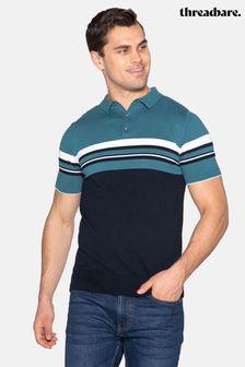 Threadbare Harris Colour Block Short Sleeved Jumper