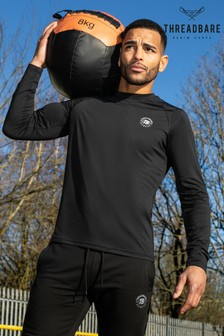 Threadbare Abductor Long Sleeve Sports Top