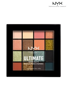 NYX Professional Make Up Ultimate Shadow Palette Utopia 16 Shades