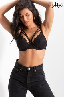 Pour Moi Statement Padded Bra
