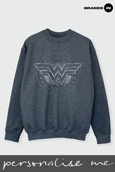 Ladies Wonder Woman Sweatshirt by DC Comics