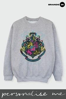 Girls Hogwarts Crest Sweatshirt by Harry Potter