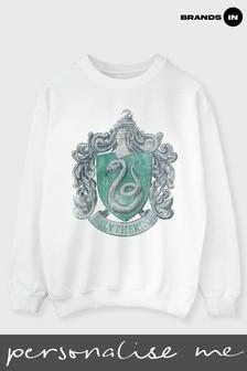 Womens Slytherin Crest Sweatshirt by Harry Potter