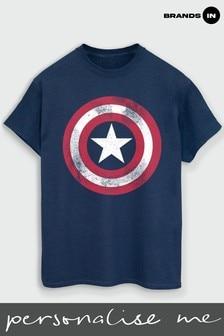 Mens Captain America T-Shirt by Marvel