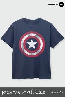 Marvel Boys Captain America T-Shirt by Marvel