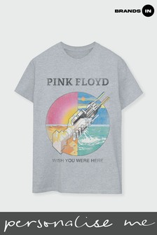 Mens Wish You Were Here T-Shirt by Pink Floyd