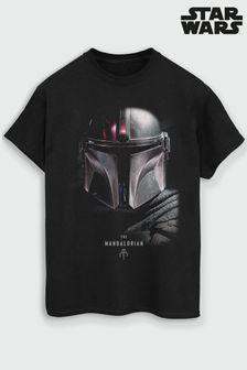 Mens The Mandalorian Poster T-Shirt by Star Wars