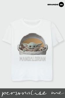 Girls The Mandalorian The Child Pod T-Shirt by Star Wars