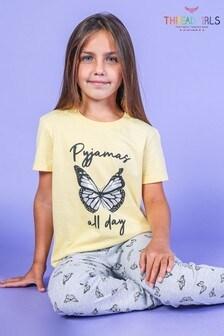 Threadgirls Butterfly Cotton Pyjama Set
