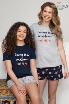 Threadgirls Melon Cotton Pyjama Set