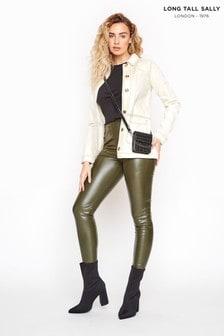 Long Tall Sally Leather Look Leggings
