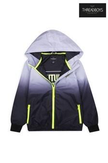Threadboys Bexley Ombre Hooded Pack Away Jacket