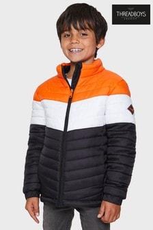 Threadboys Paul Colourblock Puffer Jacket