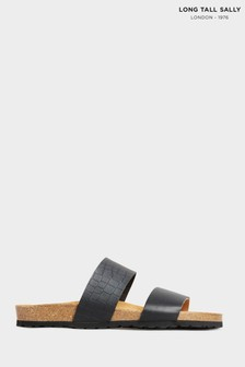 Long Tall Sally Two Strap Footbed Sandals