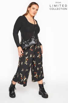 Yours Limited Floral Print Culottes