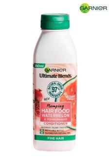 Garnier Ultimate Blends Plumping Hair Food Watermelon Conditioner 350ml