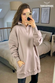 Threadbare Lissy Oversized Fleece Dress