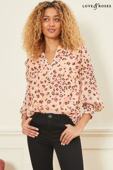 Love & Roses Over The Head Blouse
