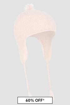 Bonpoint Baby Girls Pink Hat