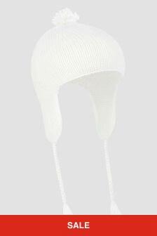 Bonpoint Baby Unisex White Hat