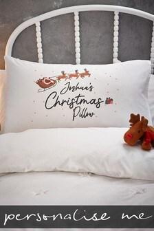 Personalised Christmas Pillowcase