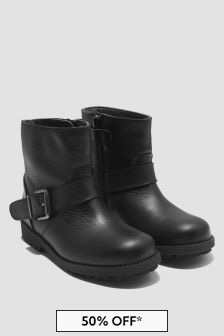 Bonpoint Girls Black Boots
