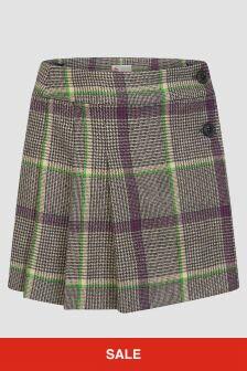 Bonpoint Girls Grey Skirt