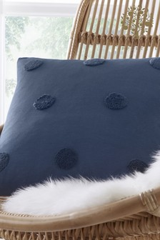 Appletree Navy Zara Cushion