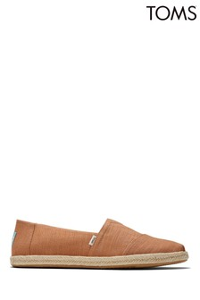 TOMS Alpargata Rope Alm Slubby Woven Shoes