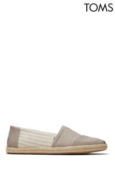 TOMS Alpargata Rope Oxford Tan University Shoes