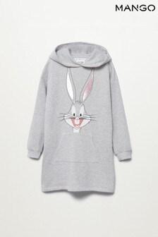 Mango Bugs Bunny Sweatshirt Dress