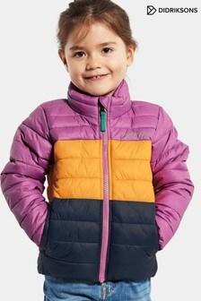 Didriksons Purple Puff Kids Jacket