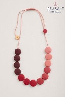 Seasalt Cornwall Pink Sea Stack Necklace