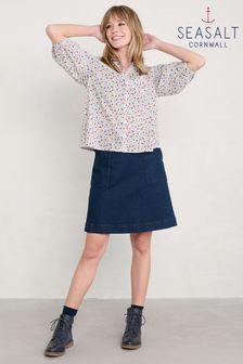Seasalt Cornwall Blue Mays Rock Skirt