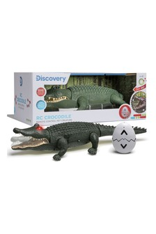 Discovery Brown Discovery Toy RC Crocodile