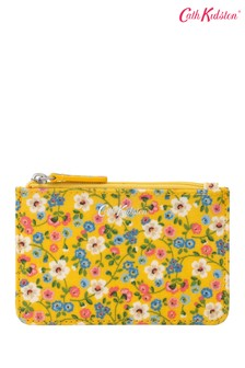 Cath Kidston Small Yellow Pembridge Ditsy Card and Coin Purse