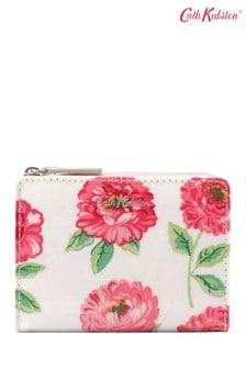 Cath Kidston Cream Dahlia Slim Pocket Purse
