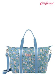 Cath Kidston  Forget Me Not Blue Foldaway Overnight Bag