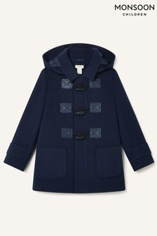 Monsoon Blue Duffle Coat