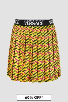 Versace Girls Natural Skirt