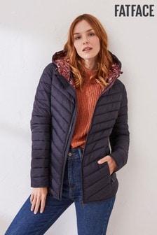 FatFace Blue Ruby Puffer Jacket