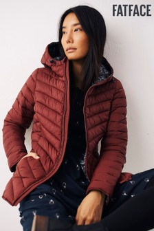 FatFace Red Ruby Puffer Jacket